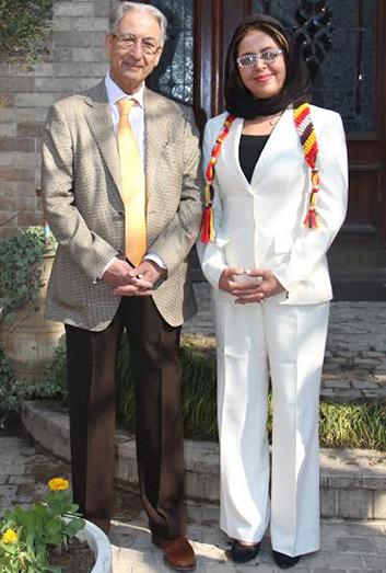 Dr. Behrooz Akhlaghi & Dr. Mahnaz Mehrinfar